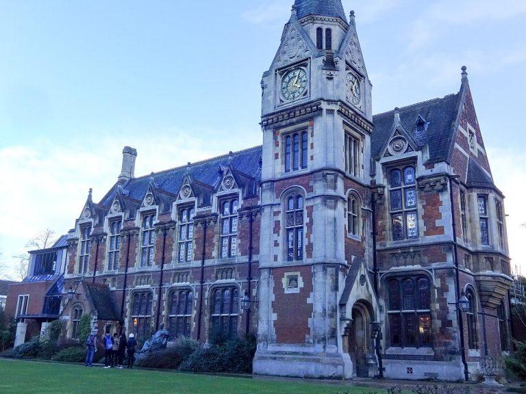 (ケンブリッジ大学で3番目に古いカレッジ)ペンブルック・カレッジ Pembroke College