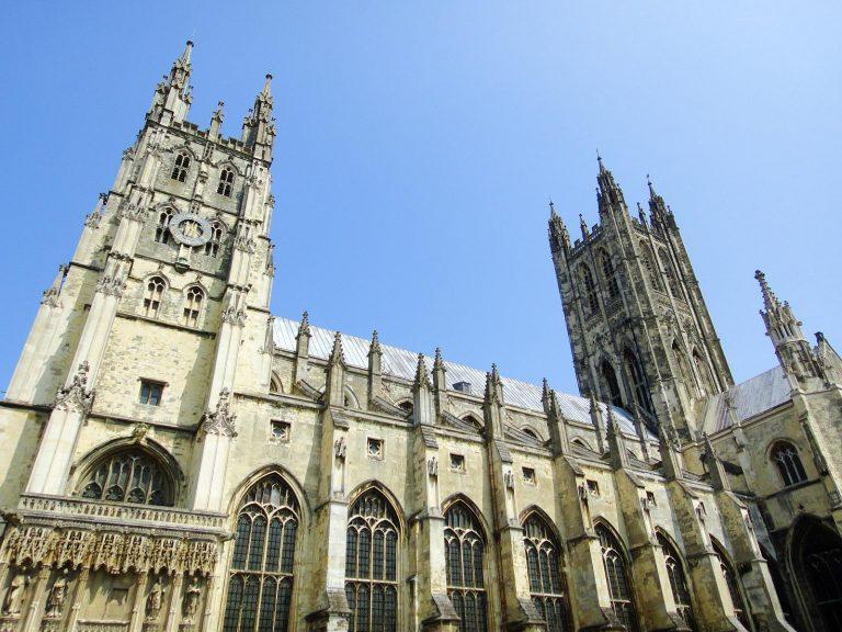 (イングランド国教会の大主教座)カンタベリー大聖堂 Canterbury Cathedral