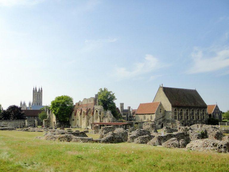 (ベネディクト修道院の遺跡)聖アウグスティヌス修道院 St. Augustine's Abbey
