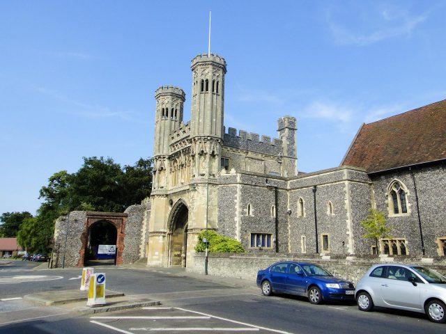 Abbot Fyndon's Great Gate