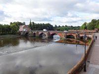 (チェスター最古の橋)オールド・ディー・ブリッジ The Old Dee Bridge