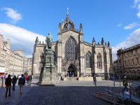 (宝石のような冠尖塔)聖ジャイルズ大聖堂 St. Giles' Cathedral