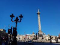 (ロンドンの中心)トラファルガー広場 Trafalgar Square