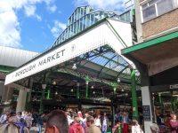 (ロンドンで最古の食品市場の一つ)バラ・マーケット Borough Market