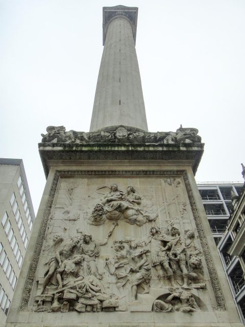 The Monument to the Great Fire of London