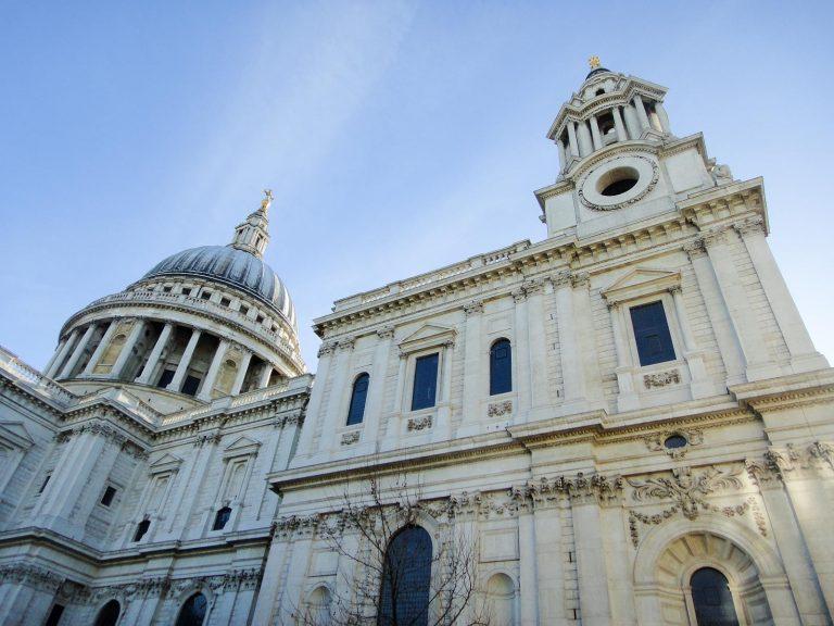 (イングランド国教会ロンドン主教座聖堂)セント・ポール大聖堂 St. Paul's Cathedral