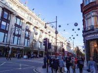 (ヨーロッパ最大のショッピング街)オックスフォード・ストリート Oxford Street