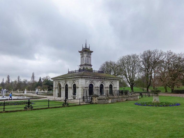 (ケンジントン宮殿の庭園)ケンジントン・ガーデンズ Kensington Gardens