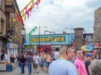 (マーケットが立ち並ぶ)カムデン・タウン Camden Town