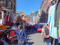 (衣服のマーケット)ペチコートレーン・マーケット Petticoat Lane Market