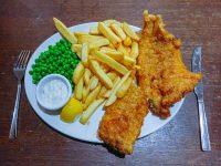(衣さくさく)フィッシュアンドチップス Fish and chips