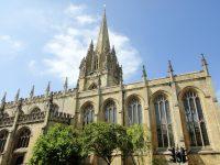 (オックスフォードの中心)聖母マリア大学教会 The University Church of St. Mary the Virgin