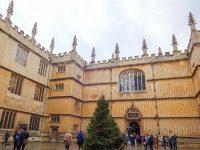 (ヨーロッパで最も古い図書館の一つ)ボドリアン図書館 The Bodleian Library
