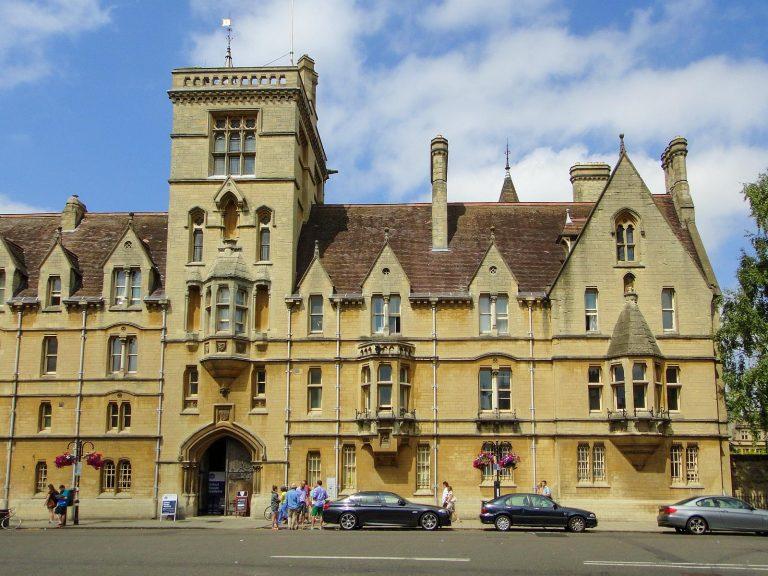 (皇后陛下が外務省時代に留学された)ベリオール・カレッジ Balliol College