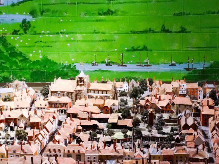 (ライ物語、町の模型、音と光のショー)ライ・ヘリテージ・センター Rye Heritage Centre