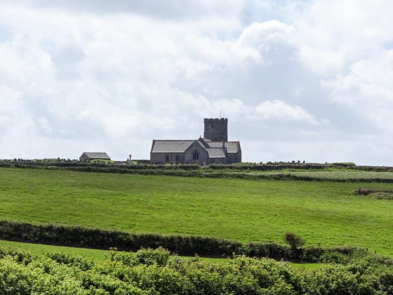 The Parish Church of St. Materiana at Tintagel