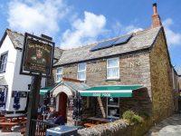 (ティンタジェル村の憩いの場)アーサー王軍団亭 King Arthur's Arms Inn
