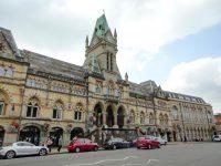 (ゴシック・リヴァイヴァル様式の壮麗な建物)ウィンチェスター・ギルドホール Winchester Guildhall