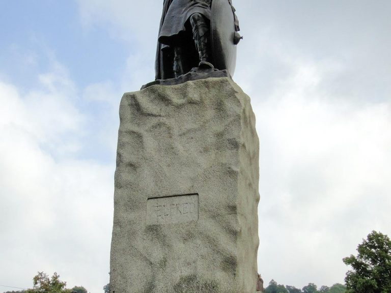 The Statue of Alfred the Great
