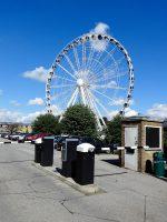 (2013年まで運転された)ヨークシャー観覧車 Yorkshire Wheel