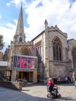 (現在は現代美術館)キャッスルゲート通りの聖母マリア教会 St. Mary's Church, Castlegate, York