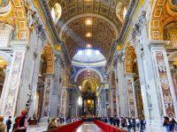 (カトリック教会の総本山)サン・ピエトロ聖堂 The Papal Basilica of St. Peter